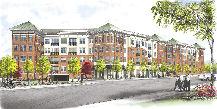 Mill Creek Residential Trust Purchases Courtesy Hotel Site To Build New Apartment Building And Amenity Center