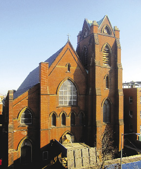 St. Vincent De Paul Church, Williamsburg, New York: Before