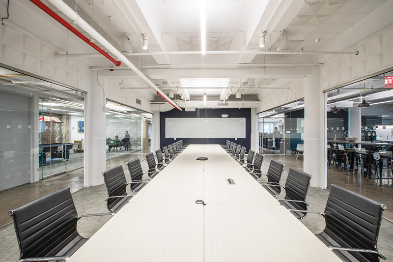 Manhattan, NY New York Based Corporate Interiors Firm MKDA Has Completed A  25,000 S/f Workplace For Integral Ad Science (IAS), The Technology And Data  ...