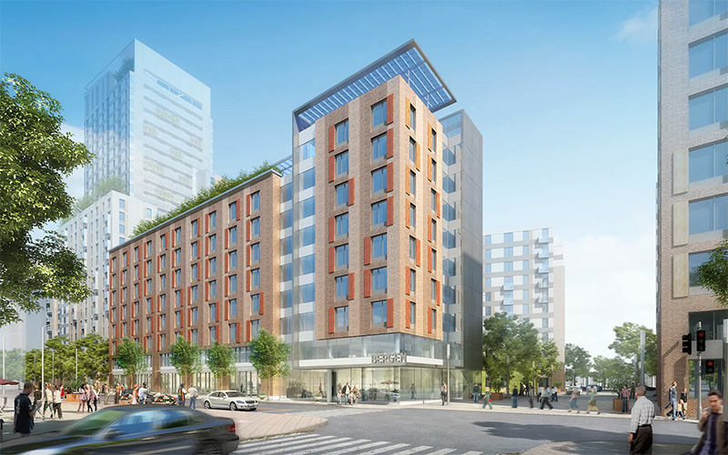 FXFOWLE/MHG-designed $67 million Bronx housing project