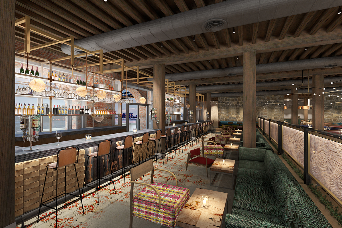 Cetraruddy Designed Sugarcane 9 000 S F Raw Bar Opens In
