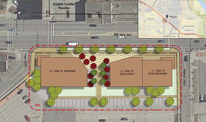 Eastman Business Park plans retail development near Kodak Center
