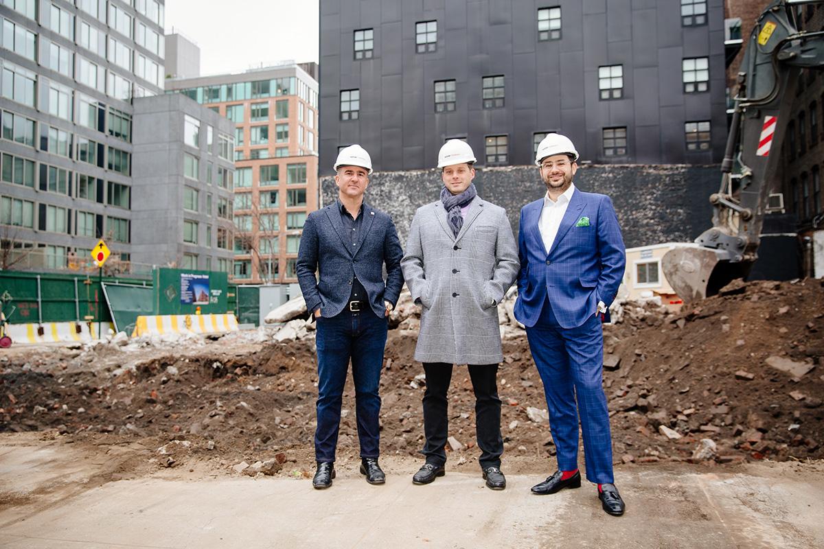 Caspi Development, Mactaggart and Barone break ground on