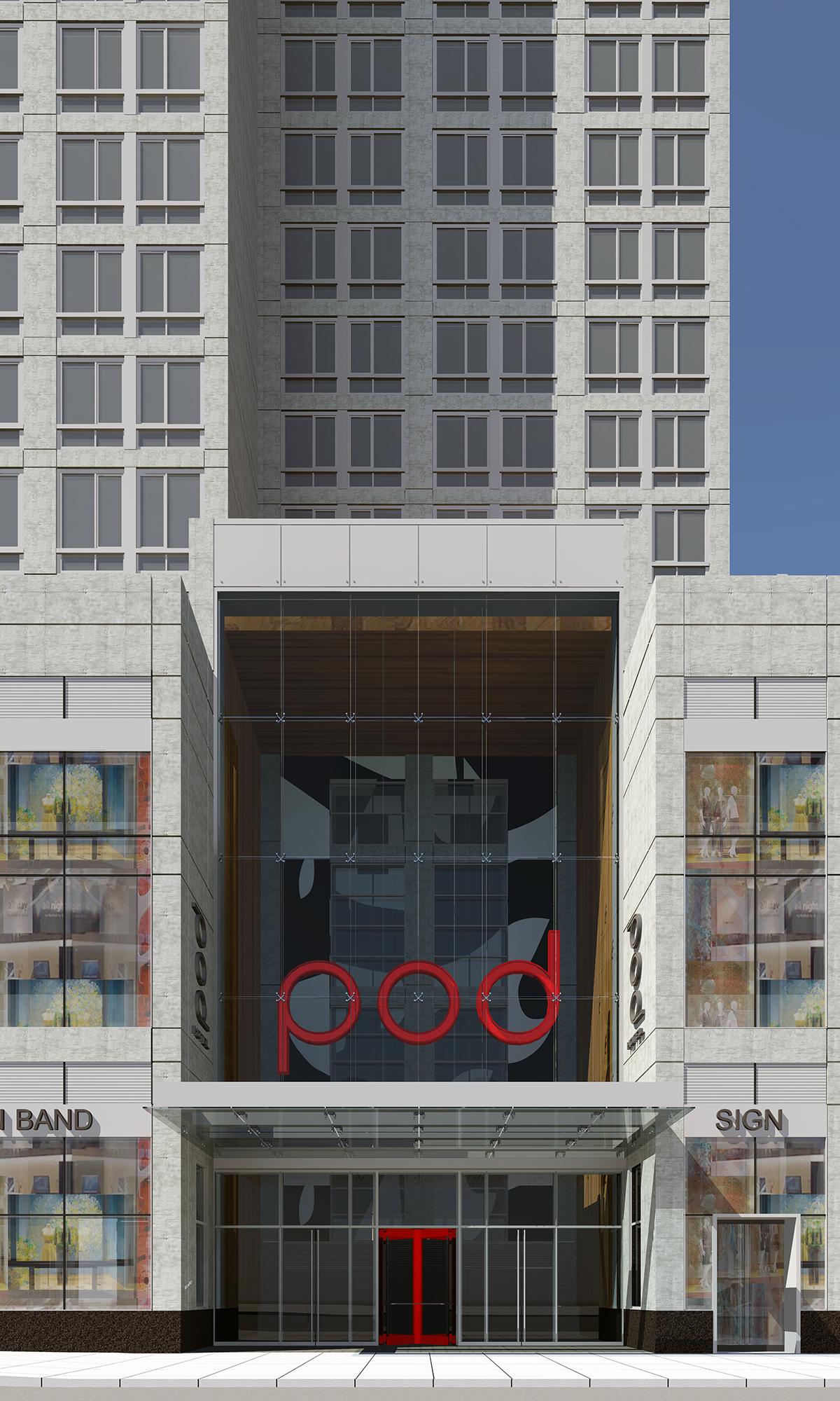 Bd Hotels Opens Pod Times Square A 45 Pod Micro Hotel Concept Designed By Architect Slce Nyrej