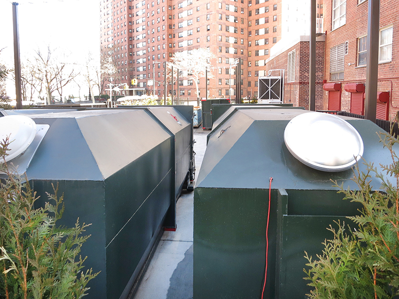 CTA completes $1.1 million redevelopment/upgrade of 5,650 s/f refuse storage; Team includes: Galli Engineering, Cabo and Domingo Gonzales