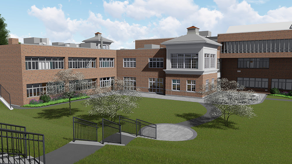 SLAM and Cook and Krupa join Green Vale School  in groundbreaking of 58,000 s/f academic building