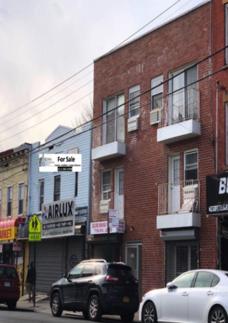 Goldfein and Liberow of EMH Commercial Realty retained as exclusive agents for 735-737 Liberty Aves. in Brooklyn