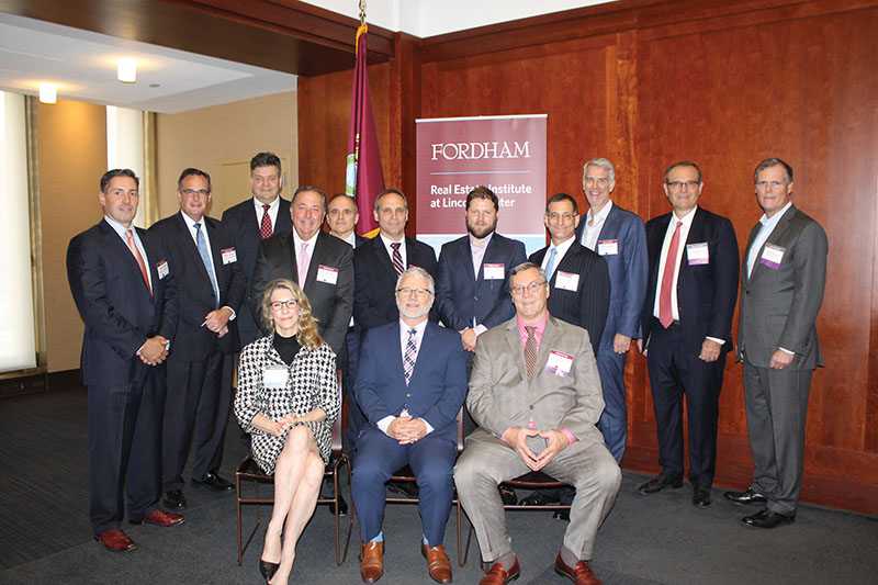 """Fordham Real Estate Institute, Columbia University, the Counselors of Real Estate and Professional Women in Construction co-host """"Urbs or Burbs?"""" breakfast panel"""