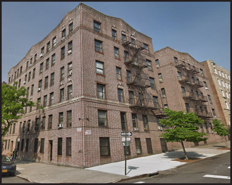 Goldflam and Bichoupan of Highcap Group arrange $8.25 million sale of a 42,000 s/f corner walk-up apartment building in Bronx