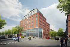 Sunset Park Library/affordable housing project breaks ground in Brooklyn; Designed by MAP