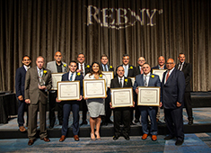 REBNY celebrates honorees at 16th Annual Leadership Breakfast; Trimboli of CBRE receives Riguardi award