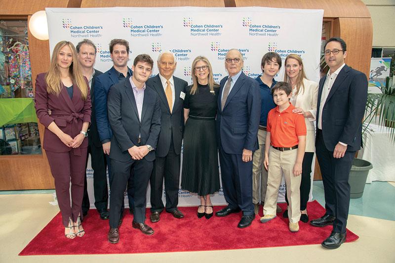 Northwell Health dedicates hospital pavilion to Blumenfeld