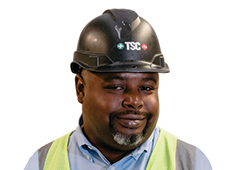 Executive of the Month: Malcolm Punch, TSC site safety <br>supervisor: All about helping people, by keeping them safe