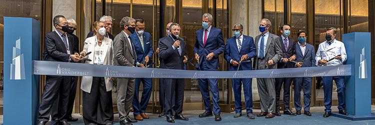 SL Green celebrates opening of One Vanderbilt Ave., 1,401 ...