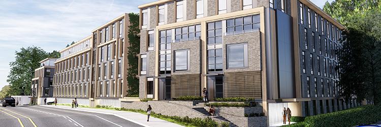 74-unit multifamily residential development, 200 MNR by Mojo Stumer Associates moves forward
