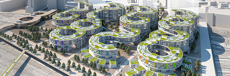 LERA named finalist in Sunnyside Yards Competition with project partners daab design and Buro Happold