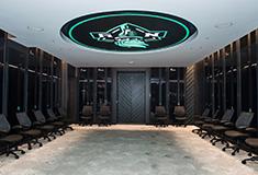 Women-led team from Shawmut designs NY Liberty locker room