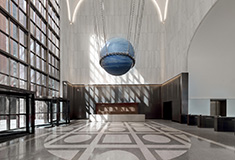 Olayan Group unveils renovated lobby at 550 Madison by Gensler