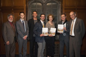 SWBR being honored with the Merit Award for the State University of New York College at Brockport Liberal Arts Building.