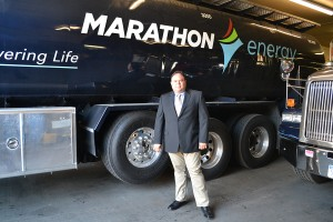Gus Sfakianos, Marathon's vice president of mechanical services, at the company's headquarters in Brooklyn. Marathon's in-house team of technicians provide maintenance service year round, round the clock.
