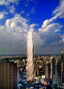 Rendering of the development site at 143-161 East 60th Street - Manhattan, NY