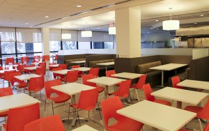 Interior of the Peter W. Rodino Federal Building ARRA project - Newark, NJ