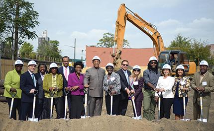 MacQuesten Development, LLC to celebrate the groundbreaking for Van Sinderen Plaza