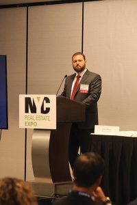 Rieder gave one of the keynote addresses at this year's NYC Real Estate Expo