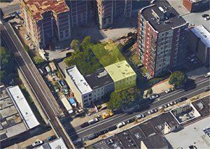 Aerial, 906-908 Bergen Street - Brooklyn, NY