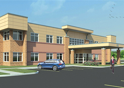 Rendering, Calkins Corporate Park, Building #600, 600 Red Creek Drive - Henrietta, NY