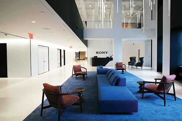 Sony, Inc. world headquarters, 25 Madison Avenue - New York, NY