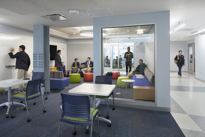 Richterratner Completes 45000 Sf Interior Fit Out For Xavier High