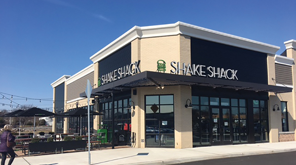 Shake Shack opens at Breslin Realty and Colin Development's Smith Haven Plaza shopping center