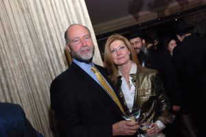 Joel and Carol Herskowitz at an event