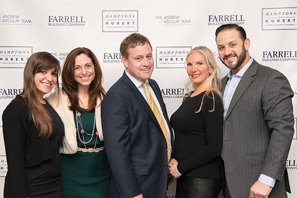 Shown (from left) are: Jacqueline Elezaj, Jenn and Gregg Farrell, and  Laura and Alex Elezaj.