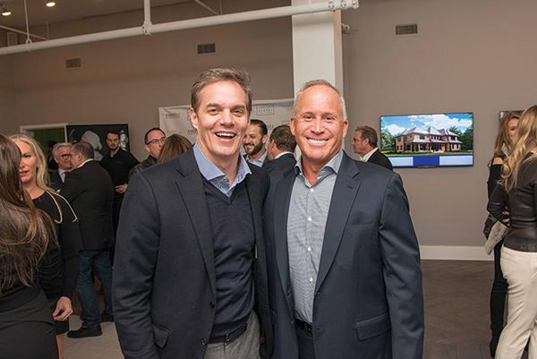 Shown (from left) are: Bill Hemmer and Joe Ferrell.